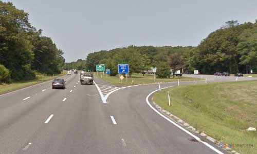 ma interstate 195 massachusetts i195 picnic rest area mile marker 6 northbound off ramp exit