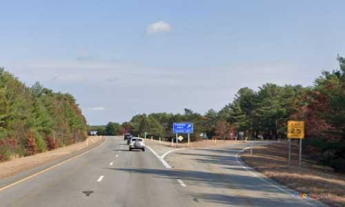 ma interstate 195 massachusetts i195 visitor center rest area mile marker 37 northbound off ramp exit