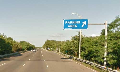 ma interstate 495 massachusetts i495 rest area mile marker 110 northbound off ramp exit