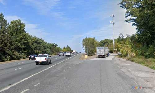 ma interstate 495 massachusetts i495 rest area mile marker 87 northbound off ramp exit