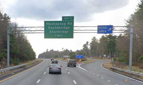 ma interstate 84 massachusetts i84 picnic rest area mile marker 4 westbound off ramp exit