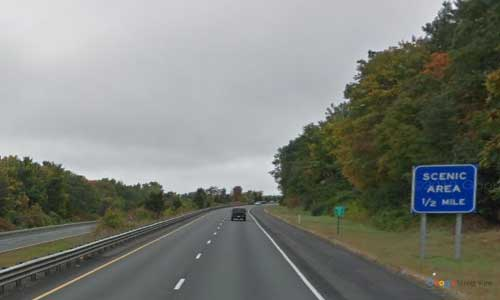 ma interstate 91 massachusetts i91 scenic rest area mile marker 18 southbound off ramp exit