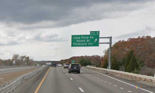 ma state route 3 massachusetts ma3 plymonth visitor center rest area eastbound off ramp exit