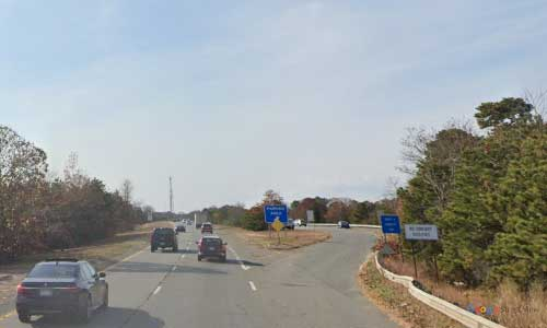 ma us route 6 massachusetts us6 parking rest area mile marker 76 westbound off ramp exit