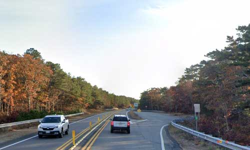 ma us route 6 massachusetts us6 parking rest area mile marker 87 westbound off ramp exit